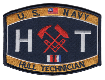 Engineering Rating Patch Hull Technician Navy Patch