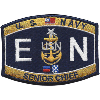 ENCS Senior Chief Engineering Rating Patch