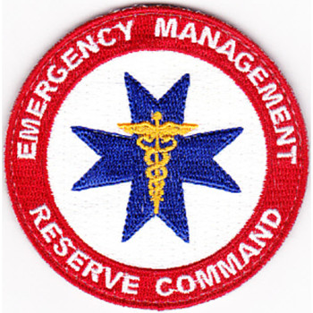 Emergency Management Reserve Command Civilian Patch Hook And Loop