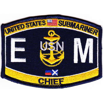 EMC-SS Submarine Chief Electrician's Mate Patch