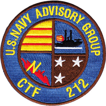 Naval Advisory Group CTF-212 NAG Patch