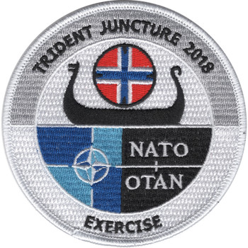 NATO Trident Juncture 2018 Patch