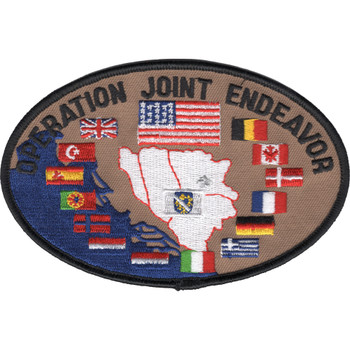 NATO Operation Joint Endeavor Patch