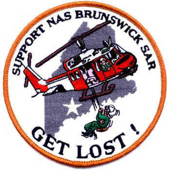 NAS Brunswick SAR Patch