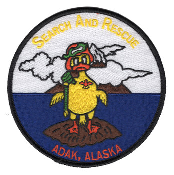 Adak Alaska Search And Rescue Patch