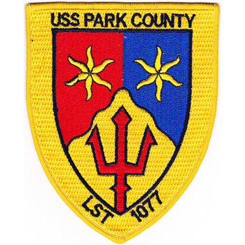 LST-1077 USS Park County Patch