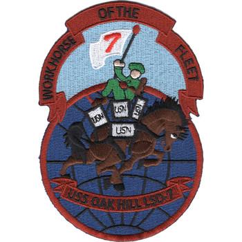 LSD-7 USS Oak Hill Patch