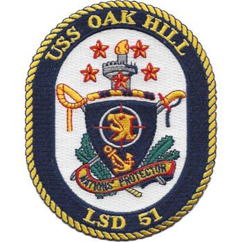 LSD-51 USS Oak Hill Patch
