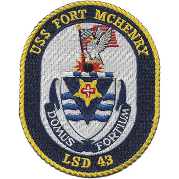 LSD-43 USS Fort McHenry Patch