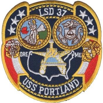 LSD-37 USS Portland Patch