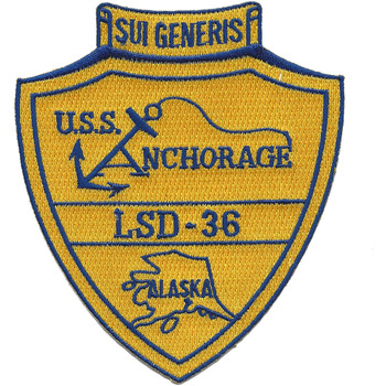 LSD-36 USS Anchorage Patch