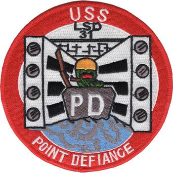 LSD-31 USS Point Defiance Patch