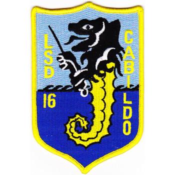 LSD-16 USS Cabildo Patch