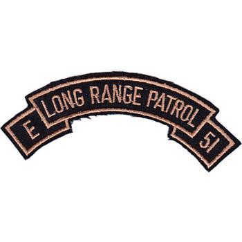 LRP Det. E 51st Inf. Regt. 101st Division Patch