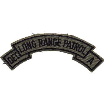 LRP Det. A 51st Inf. Regt. OD Patch