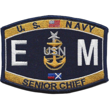 Electrician's Mate Senior Chief Engineering Rating Patch