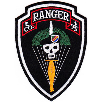 E Company 1st Battalion 75th Ranger Regiment Patch