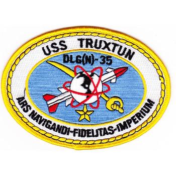 DLG(N)-35 USS Truxtun Patch