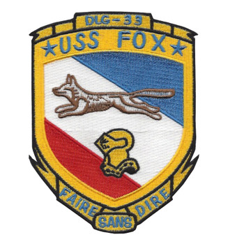 DLG-33 USS Fox Patch