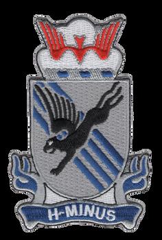 505th Airborne Infantry Regiment Patch H-Minus Vietnam