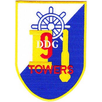 DDG-9 USS Towers Patch