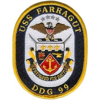 DDG-99 Farragut Patch