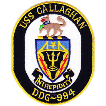 DDG-994 USS Callaghan Patch