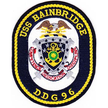 DDG-96 Bainbridge Patch