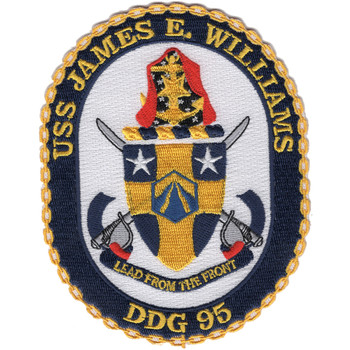 DDG-95 USS James E Williams Patch