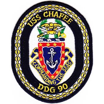 DDG-90 USS Chafee Patch