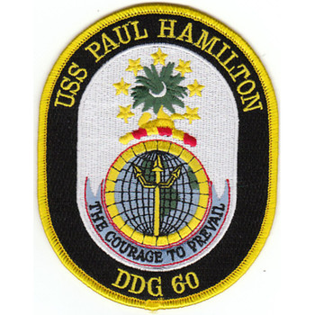 DDG-60 USS Paul Hamilton Patch