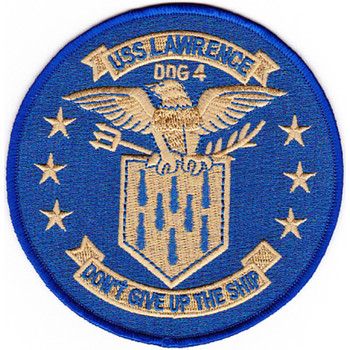 DDG-4 USS Lawrence Patch - Version B