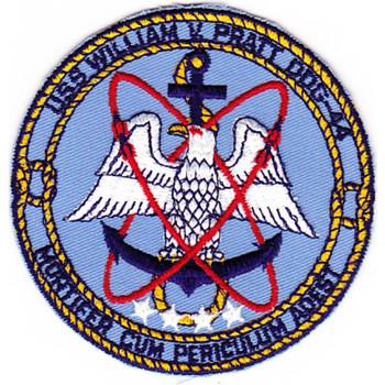 DDG-44 USS William V Pratt Patch