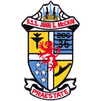 DDG-36 USS John S Mccain Patch