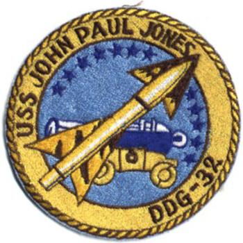 DDG-32 USS John Paul Jones Navy Patch