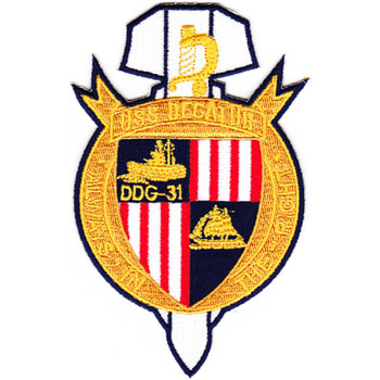 DDG-31 USS Decatur Patch