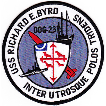 DDG-23 USS Richard E Byrd Patch