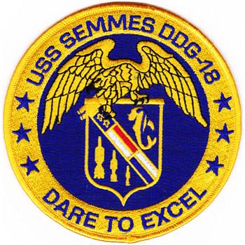 DDG-18 USS Semmes Patch
