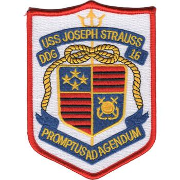 DDG-16 USS Joseph Strauss Patch