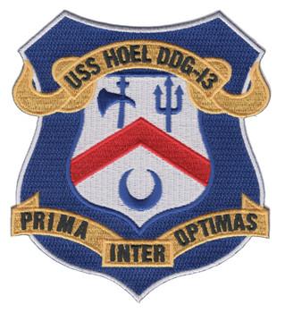 DDG-13 USS Hoel Patch