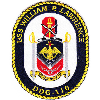DDG-110 USS William P Lawrence Patch