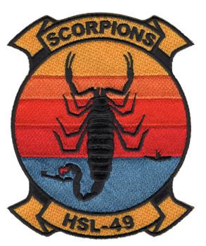 HSL-49 Patch Scorpions