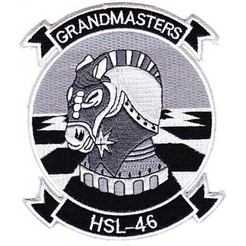 HSL-46 Grandmasters Right Facing Patch
