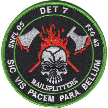 HSL-46 Det 7 Patch Railsplitters