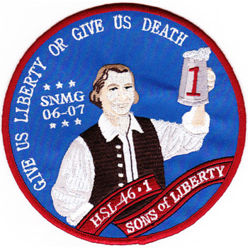 HSL-46 Det 1 Patch Sons Of Liberty