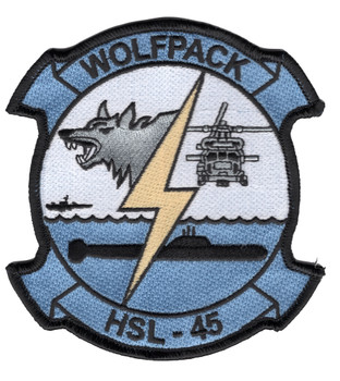 HSL-45 Patch Wolfpack
