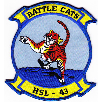 HSL-43 Patch Battle Cats