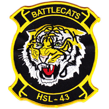 HSL-43 Helicopter Anti-Submarine Squadron Light Patch