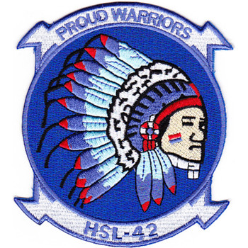HSL-42 Patch Proud Warriors