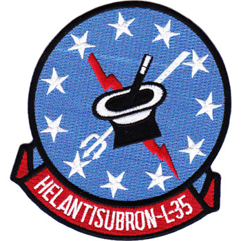 HSL-35 Helicopter Anti-Submarine LiSquadron Light Patch